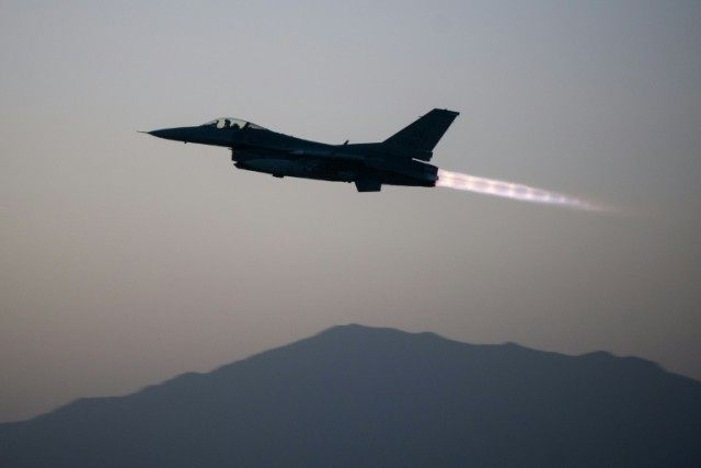 US forces regularly launch air strikes in the name of counter-terror operations in the eastern regions bordering Pakistan, where the Taliban, Islamic State group and Al-Qaeda fighters have strongholds