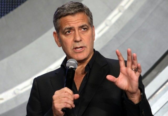"George Clooney, who hosted big-money fundraisers for Hillary Clinton in California, has called such fundraising ""obscene"""