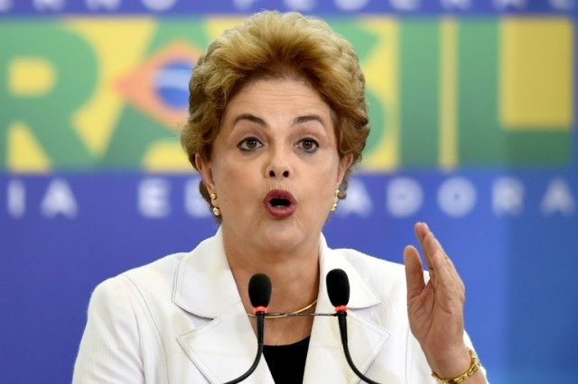 The lower house of Congress will vote Sunday on whether to impeach Brazilian President Dilma Rousseff