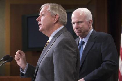 John McCain, Lindsey Graham