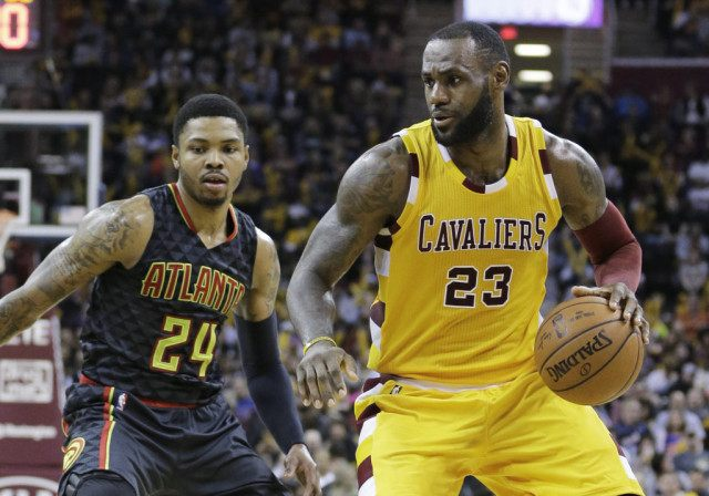 LeBron James, Kent Bazemore