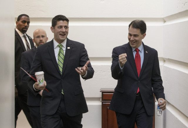 Paul Ryan, Scott Walker