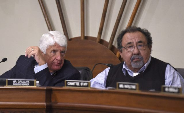Raul Grijalva, Rob Bishop