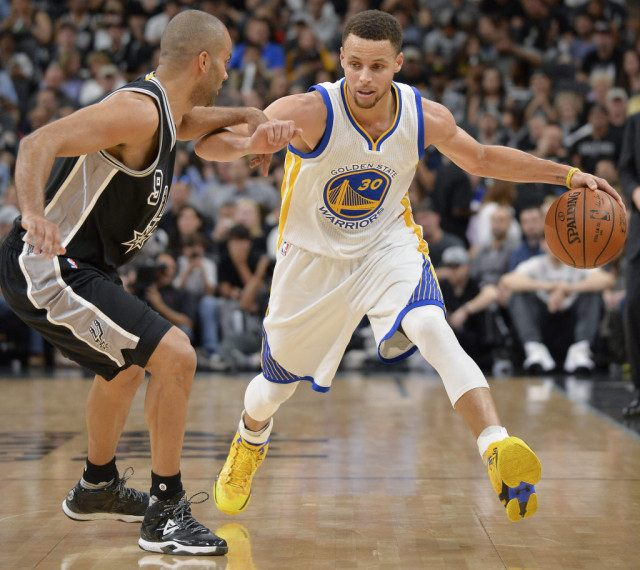 Warriors Record Without Stephen Curry 2017: Warriors Tie Record With 72nd Win, End Spurs' Home Streak