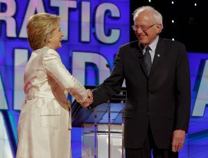Clinton, Sanders spar over fracking