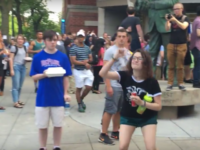DePaul Protester: 'Pick Up Your Trump Sh**, White Male!'