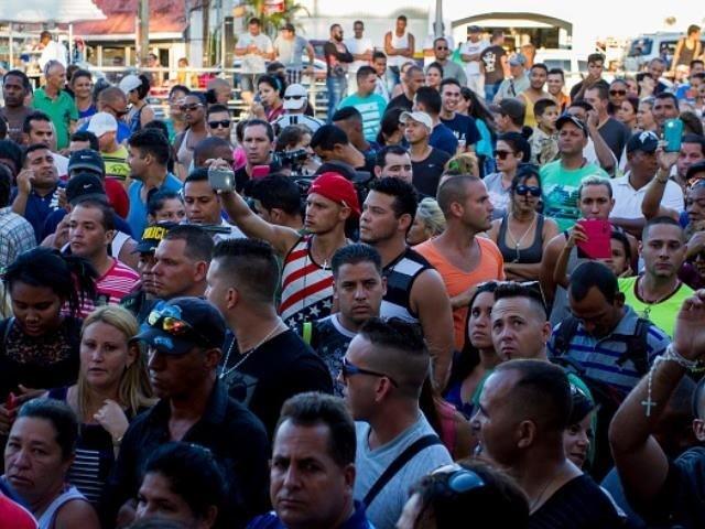 Cuban Migrants Heading to Texas