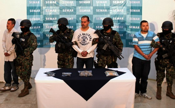 Suspects arrested in Mexico. (AP File Photo/Alexandre Meneghini)