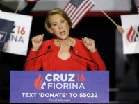 Carly Fiorina: Trump Declaring Victory Prematurely; '30-Yard-Line Ain't a Touchdown'
