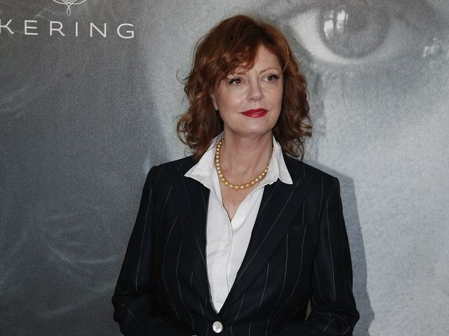Actress Susan Sarandon poses for photographers during a photo call for the Women In Motion Talks at the 69th international film festival, Cannes, southern France, Sunday, May 15, 2016. (AP Photo/Thibault Camus)