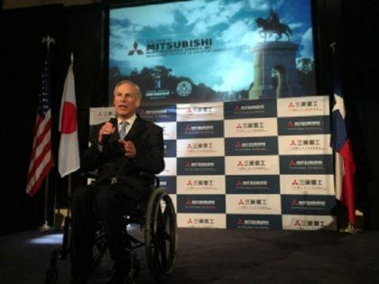 Governor Greg Abbott welcomes Mitsubishi to Texas