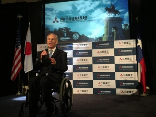 Governor Greg Abbott welcomes Mitsubishi to Texas