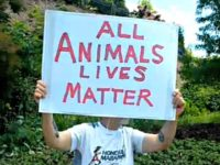 All animal lives matter sign