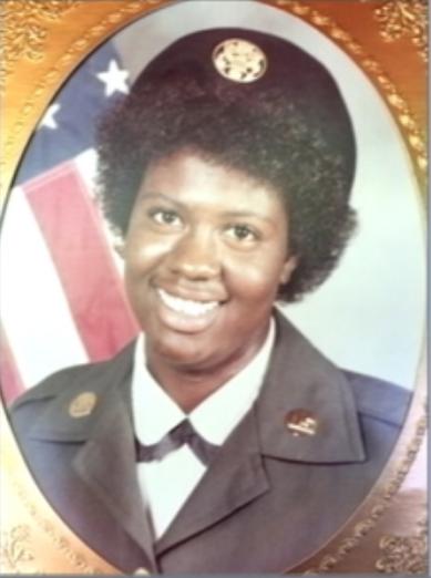Army Veteran Antoinette Brown