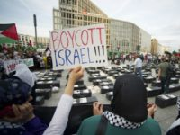 Protesters call for boycott of Israel