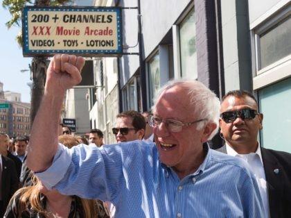Bernie Sanders XXX (Josh Edelson / AFP / Getty)