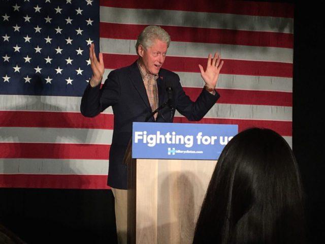 Bill Clinton (Daniel Nussbaum / Breitbart News)