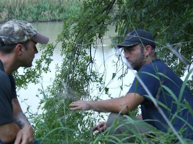 Brandon Darby with Paul Nehlen on Border