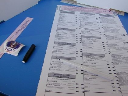 California ballot (Dawn Endico / Flickr / CC)