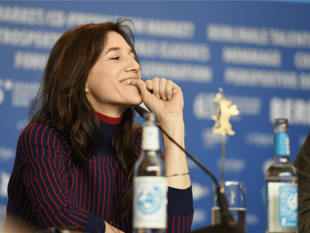 French actress Charlotte Gainsbourg addresses a press conference of the film 'Every Thing Will Be Fine' by German director Wim Wenders at the 65th Berlin International Film Festival Berlinale in Berlin, on February 10, 2015.