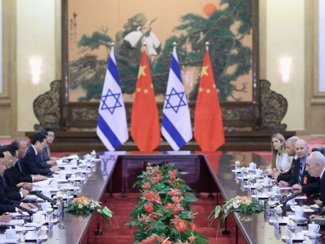 China Israel diplomacy (Feng Li / Getty)