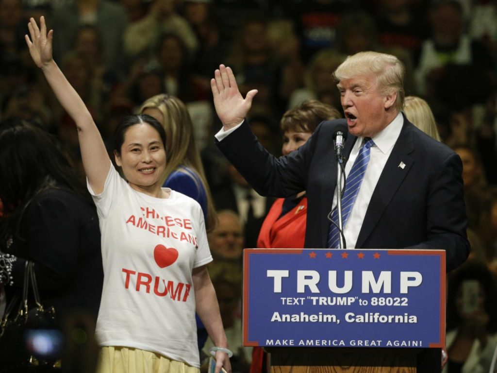 Chinese Americans for Trump (Jae C. Hong / Associated Press)