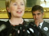 Clooney Clinton Getty