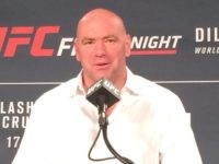 Dana White UFC Fight Night Boston
