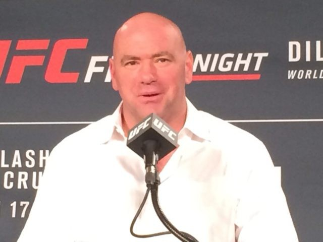 Dana White UFC Fight Night Boston
