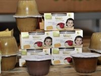 Wawa quinoa and amaranth based baby food products in La Paz, on June 12, 2013.