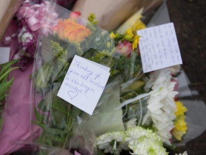 Tributes Are Left At Scene Of Fatal Accident In Bath