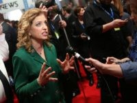 Representative Debbie Wasserman Schultz (D-FL 23rd District) and chair of the Democratic National Committee (DNC) on January 17, 2016 in Charleston, South Carolina.