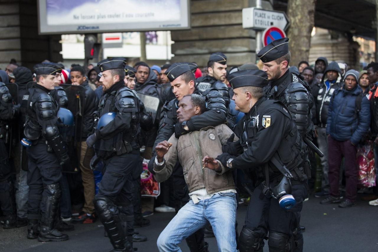 FRANCE-MIGRANT-EVACUATION