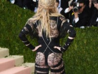 57-Year-Old Madonna Exposed Butt at Met Ball Gala As a 'Political Statement'