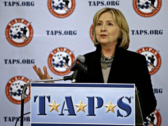 Hillary Clinton TAPS APFrank Franklin II