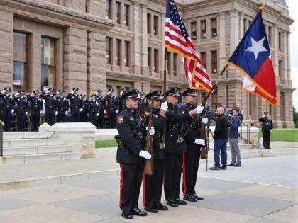 Honor Guard at Texas Capitol