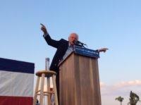 Bernie Sanders in Pomona (Adelle Nazarian / Breitbart)