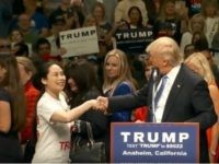 Chinese-Americans Rally with Trump in Anaheim