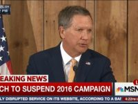 Watch: Kasich Suspends Campaign