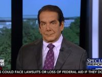 Krauthammer: AHCA Defeat A Philosophical Victory for Obama