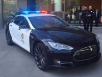 LAPD Tesla (Facebook)