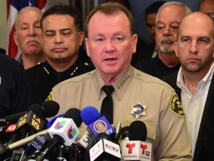 L.A. Sheriff Faces Protests for Opposition to 'Sanctuary State'