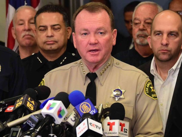 Los Angeles Sheriff Jim McDonnell (Frederic J. Brown / AFP / Getty)