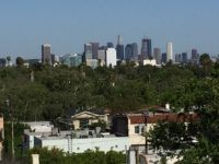 Los Angeles skyline (Joel Pollak / Breitbart News)