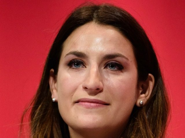 Britain's opposition Labour Party Shadow Minister for Mental Health Luciana Berger addresses delegates on the final day of the annual Labour party conference in Brighton on September 30, 2015