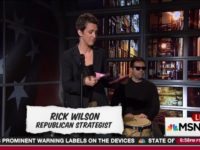 Watch: Rachel Maddow Performs 'Never Trump' Poetry to Bongo Drums