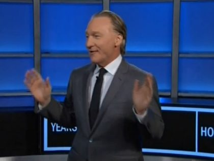 Maher: A Lot of Liberals Talk About Gun Control, But 'Don't Know Sh*t' About Guns, Gun Control Pushes 'A Little Bit Elitist' and 'Racist'