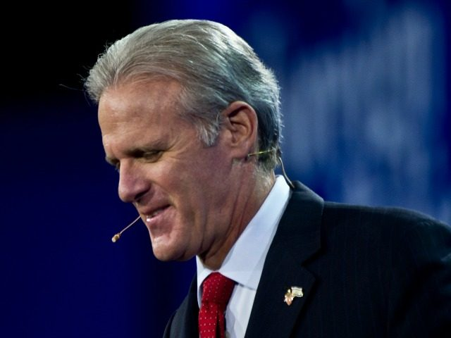 Israeli ambassador to the US Michael Oren arrives to address the American Israel Public Affairs Committee (AIPAC) annual policy conference in Washington on March 3, 2013.