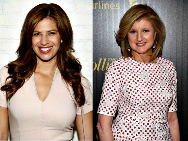 Michelle Fields and Arianna Huffington Getty Images