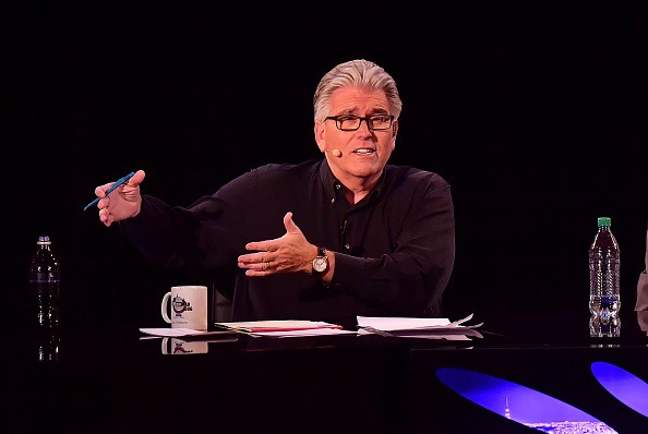 "NEW YORK, NY - MARCH 30: Mike Francesa hosts the ""Mike And The Mad Dog"" Reunion at Radio City Music Hall on March 30, 2016 in New York City. (Photo by James Devaney/WireImage)"